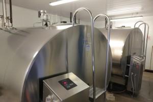 milk vats